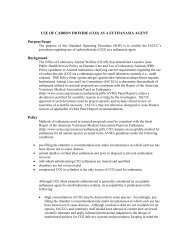 Use of CO2 as a Euthanasia Agent - Laboratory Animal Resources