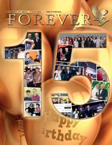 Godina XVi. broj 5. - sVibanj 2012. nije za prodaju