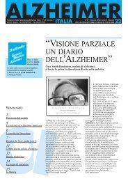 Notiziario 22 - Alzheimer Italia