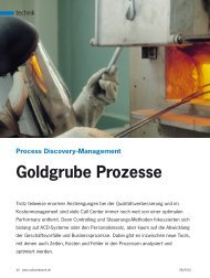 Goldgrube Prozesse - Marketing Resultant GmbH