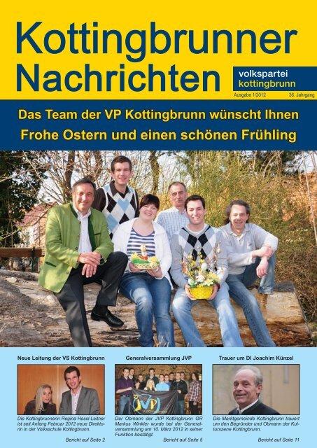 Frohe Ostern und einen schönen Frühling - Volkspartei Kottingbrunn