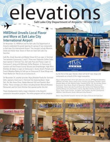 Elevations - Salt Lake City International Airport
