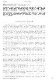 Decreto legislativo 10 Dicembre 2010, n. 219 - Autorità di Bacino del ...