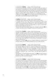 74 COLLEZIONE I CARRELLI design: Martin Streitenberger Si ...
