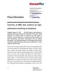 Press Information - CeramTec