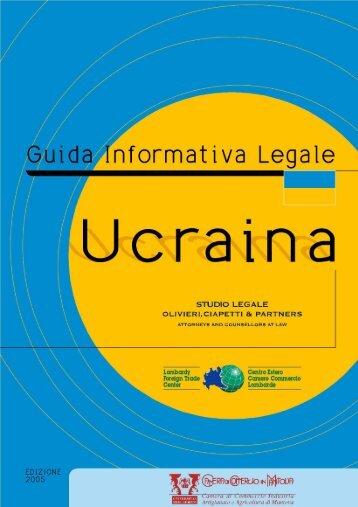 Ucraina - Camera di Commercio di Mantova