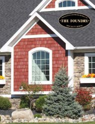 The Foundry Brochure - Huttig Building Products