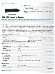 Vision Systems GmbH - CN-2516 Async Server