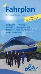 Fahrplan - Ostseeland Verkehr
