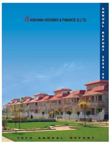 FY. 05 - Annual Report - Ashiana Housing