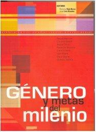 Género y Metas del Milenio - UNFPA