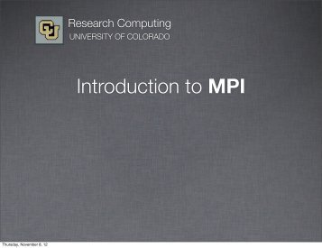 Part 2 - Research Computing