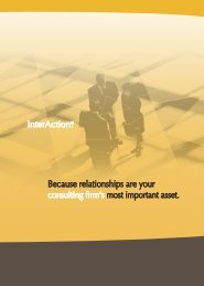 InterAction for Mgmt Consulting - LexisNexis