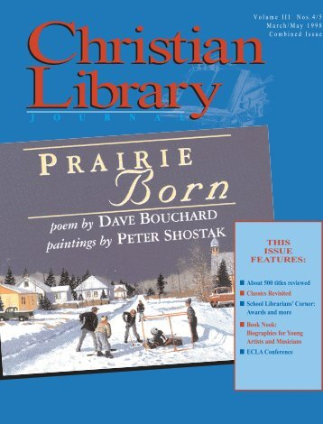 School Librarian's Corner - Christian Library Journal