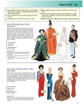 Paper Dolls 6g - Dover Publications