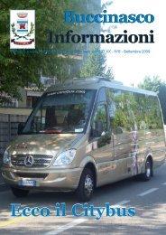Buccinasco Informazioni Buccinasco Informazioni Ecco il Citybus
