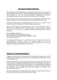 Das neue EU-Führerscheinrecht - KDO-KIM