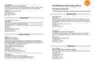 Jahresprogramm 2007-2.pages - Hospiz-Gruppe Albatros