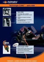 Technologie CORE™ – série 4000 - SDIS14