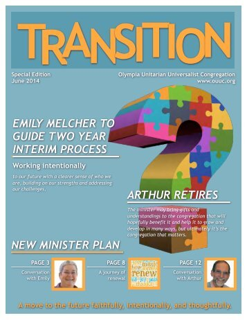 14-06 Ministerial Transition