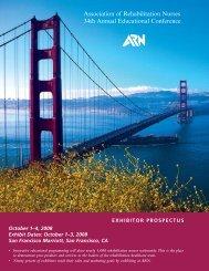 Association of Rehabilitation Nurses 34th Annual Educational ...