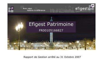 Efigest Patrimoine