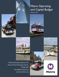 FY 2013 Operating and Capital Budget - Metro Transit