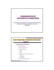 8 - Matematicas financieras ( 2009) - Sistema Nacional de Inversiones