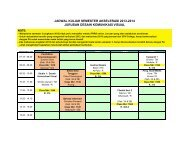 Jadwal Kuliah DKV Semester Akselerasi 2013-2014