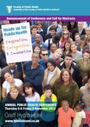 Crieff Hydro Hotel - UK Faculty of Public Health