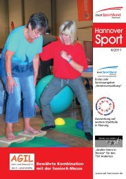 Aus- und Fortbildung - Stadtsportbund Hannover e.V.