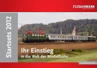 Startsets 2012 - Fleischmann-HO