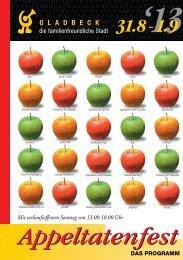 Programm 2013 - Stadt Gladbeck