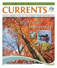 Currents – Fall 2011 - Credit Valley Conservation