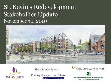St. Kevin's Stakeholder Update 11/30/2010 - Upham's Corner News