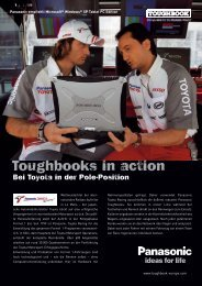Toughbooks in action - CS Computer & Service GmbH