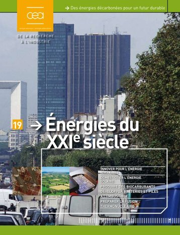 Énergies du XXI siècle