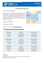 6 Days Beijing Package Tour - Classical China Tours