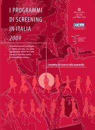 Screening del tumore della mammella - Osservatorio Nazionale ...