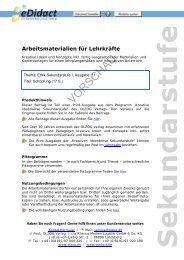 Arbeitsmaterialien für Lehrkräfte - beim OLZOG Verlag