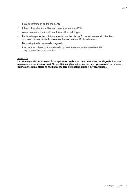 Mycoplasma genitalium - Diagenode Diagnostics