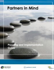 Partners in Mind Planning and Implementation Guide - General ...
