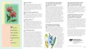 ASA Herb/Patient PDF