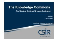 The Knowledge Commons