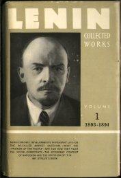 Lenin CW-Vol. 1-TC.pdf - From Marx to Mao