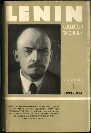 Lenin CW-Vol. 1-TC.pdf - From Marx to Mao