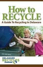 A Guide To Recycling In Delaware - Delaware Department of ...