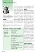 • Infekte und Biologika • Infections et médicaments biologiques ... - Page 4
