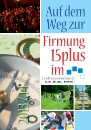 Flyer Firmung 15 plus - Pfarrei Muri