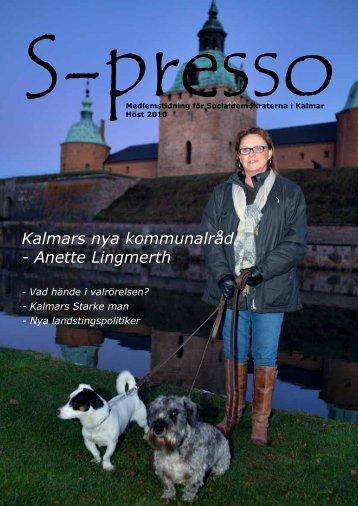 Kalmars nya kommunalråd - Anette Lingmerth - Socialdemokraterna